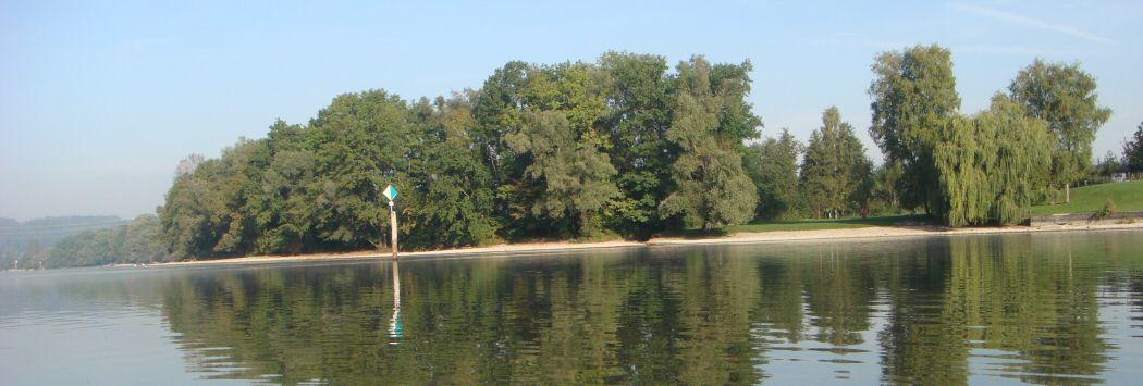 Natürlich Ufer